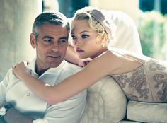 """In these exclusive outtakes from talented and mischievous George Clooney's latest Vanity Fair photo shoot, the perennial bachelor prankster channels Old Hollywood glamour with model Gemma Ward. Related: """"Already a Classic,"""" by Rich Cohen. Gemma Ward, George Clooney, Couple Chic, Montecarlo Monaco, Norman Jean Roy, The Great, Photography Poses Women, Fashion Photography, Photography Ideas"""