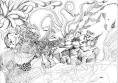 zentangle 11 by MarceloSales on DeviantArt