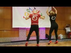 Ataca y Alemana teaching bachata footwork and prtner work on jr.Hechizo Song at dubai latin fest2016 - YouTube