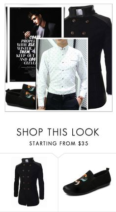"""""""Rosegal 41/ III"""" by emina-095 ❤ liked on Polyvore featuring men's fashion, menswear, polyvoreeditorial and rosegal"""