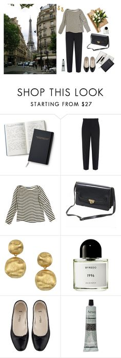 """""""Untitled #228"""" by sweetlikecinnamonnn ❤ liked on Polyvore featuring Balenciaga, Ralph Lauren, INDIE HAIR, Marco Bicego, Byredo, A.P.C. and Aesop"""