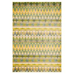 Loloi Rugs Madeline Green & Gold Area Rug