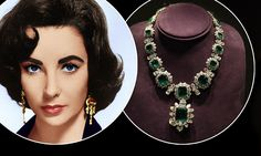 Revealed in all its glittering glory: Elizabeth Taylor's £100m collection of…