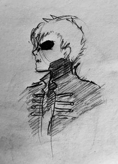 Sketch of Black Parade Gerard