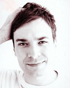 Jimmy Fallon. I don't know if people know this, but I have the biggest whopping crush on this man. Yowza.