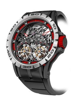Roger Dubuis Excalibur Spider Skeleton Double Tourbillon