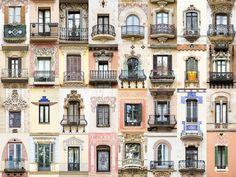 窓は人をあらわす。