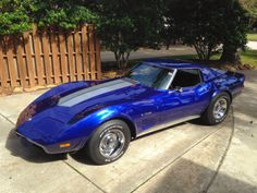 For Sale American Muscle Cars 1975 Chevrolet Corvette Stingray Manual