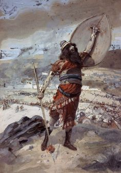 Phillip Medhurst presents James Tissot Bible c 1899 Joshua gives the signal for rhe attack on Ai Joshua Jewish Museum New York Canvas Size, Canvas Art, Canvas Prints, Joshua Bible, Jewish Museum, French Artists, Frames On Wall, Wall Art, Artwork