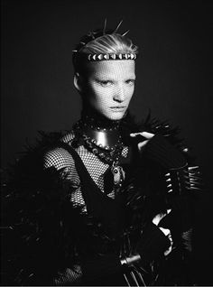 The Look: Medieval - photographed by Txema Yeste #raven queen