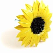 Duck Tape Sunflower!