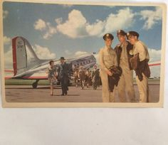 Postcard for American Airlines Flagship PM 1946 | eBay