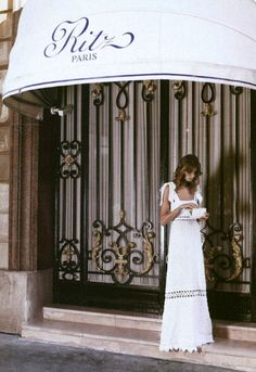 Daria Werbowy at the Paris Ritz