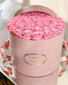 Pink Eternity® Roses In Pink Suede Box - Send A Large Round Arrangement Now Inspirational Phone Wallpaper, Wallpaper Iphone Love, Cool Wallpapers For Phones, Screen Wallpaper, Phone Wallpapers, Wallpaper Quotes, Flower Box Gift, Flower Boxes, Box Roses