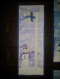 Alakoulun aarreaitta FB -sivusto / Sini-Tuulia Rautiainen Kindergarten Themes, Theme Days, Holiday Themes, Independence Day, Winter, Crafts, Painting, Holidays, Education
