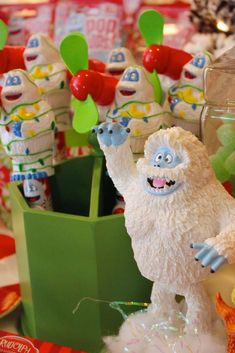 Rudolph The Red Nose Reindeer Birthday Party Ideas