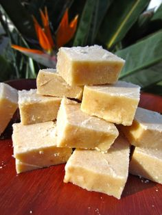 RAW Food for Truth: Coconut Lemon - FudgeCoconut Lemon Fudge Bars (Makes 32 bite size squares) - 1 cup melted coconut butter  - juice of 2 large lemons - 4-5 tbsp coconut palm sugar / your favorite sweetener - 2 tbsp shredded coconut - 4 tbsp coconut flour - optional: add some lemon zest for extra strong lemon flavor