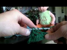 Crochet Knurl Stitch : Non-post cable) How To Crochet Gweneth Cable Stitch - LH VERSION ...