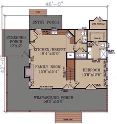 3 Bedroom Rustic Escape House Plan - 92360MX   1st Floor Master Suite, CAD Available, Cottage, Country, Exclusive, Mountain, PDF, Photo Gallery, Vacation, Wrap Around Porch   Architectural Designs