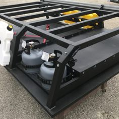 Nuthouse Industries Nuthouse Industries rack Nuthouse Hard deck aluminum truck b. Overland Gear, Overland Truck, Overland Trailer, Expedition Vehicle, Expedition Trailer, Truck Accesories, Truck Bed Accessories, Hiking Accessories, Custom Truck Beds