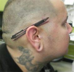26-pen-behind-ear