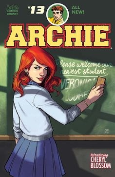 Archie #13 Introducing Cheryl Blossom