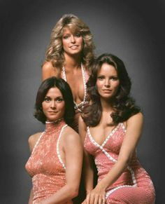 70s iconsThe original Charlie's Angels.ANGELES DE CHARLY