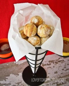 Pumpkin Ebelskivers- just made these in my Cakepop maker and they are delicious!