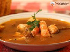 Lazy Blog: Sopa de pescado y marisco de Navidad. Receta