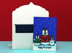 Sandy Allnock- Be brave penguin1