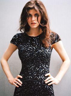 Alexandra Daddario Hair