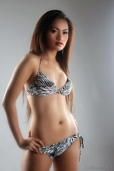 she fills out a bikini in a way that is anything but #sexy #hot #filipina