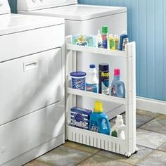 laundry room storage. Need This!