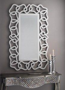 Espejo cristal calado kfh366. Diseño de Dis-arte.