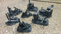Necromunda Board filler stuff