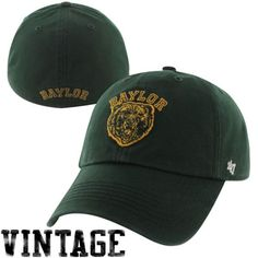 47 Brand Baylor Bears New Vault Franchise Fitted Hat - Green -  29.99 096589762