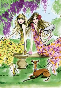 Pink Lemonade Design: I'm in love....Izak illustrations