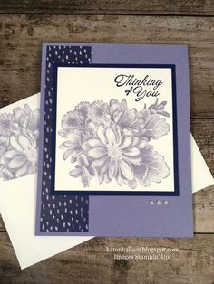 Karen's Stampin' Habit!: Quick & Easy Card Using Sale-A-Bration stamps
