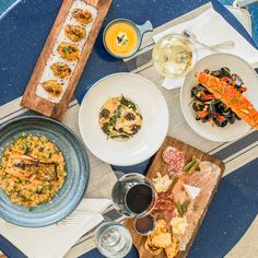 H2O Grill and Bonsai Sushi Bar, our on-site restaurant, is proud to welcome award-winning Chef Omar Torres, who has really taken things up a notch. Make time during your stay to sample our new menu. 👨🍳 🍽️ Pensacola Beach Hotels, Site Restaurant, New Menu, Paella, Sushi, Grilling, Treats, Photo And Video, Ethnic Recipes