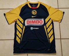 f6169cc8d4f NWOT Authentic NIKE Club America Mexico Soccer Jersey Men's Large