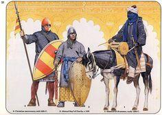 spanish muslim nobleman a spanish christian mercenary and african muslim drummer…