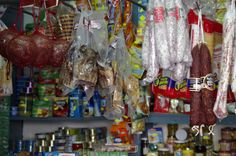 Probably the most famous 'tienda' in Orce village... if Carlsberg made shops...