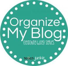 Organize My Blog {Using Categories}