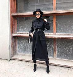 Modest Fashion Hijab, Modern Hijab Fashion, Street Hijab Fashion, Casual Hijab Outfit, Hijab Fashion Inspiration, Hijab Chic, Muslim Fashion, Mode Inspiration, Modest Outfits