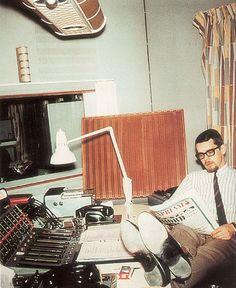 Quad ESL-57 at radio studio
