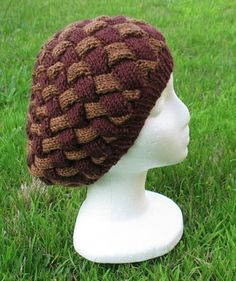 Berry Tam knit hat pattern
