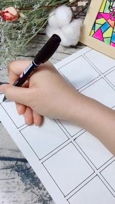 Easy Doodle Art, Doodle Art Designs, Doodle Art Drawing, Zentangle Drawings, Zentangle Patterns, Cute Doodles Drawings, Art Drawings Sketches Simple, Pencil Art Drawings, Easy Mandala Drawing