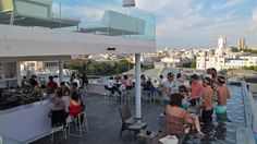 paradise in town #madrid #balcony #rooftop