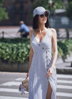 Shop the Look from Crystal Obsessions Now on ShopStyleHeaded into the weekend in linen Vintage Dresses, Cute Dresses, Casual Dresses, Fashion Dresses, Casual Outfits, Cute Outfits, Look Fashion, Womens Fashion, Summer Outfits