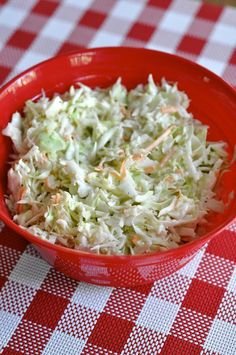 Creamy Coleslaw - One of my favorite side dishes!!